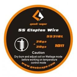 SS316L Clapton 3 m GeekVape